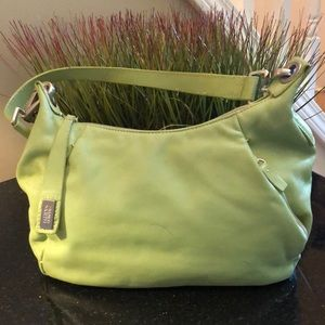 Franco Sarto lime green bag